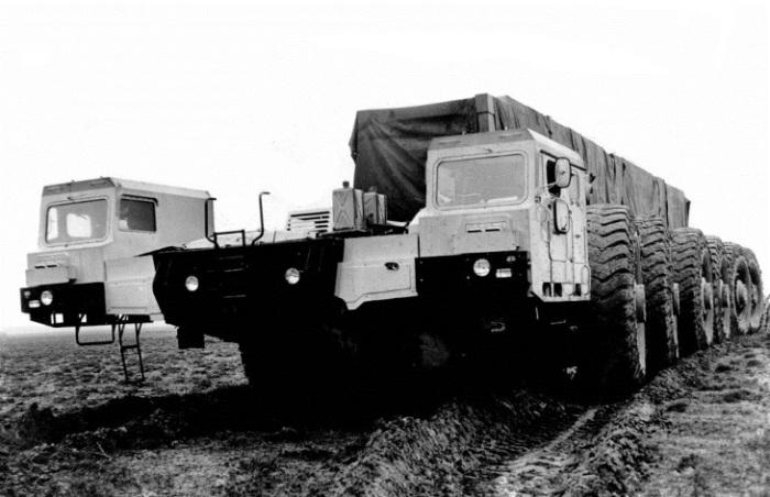 Для чего в СССР построили 24-колесный «МАЗ-7904» война и мир